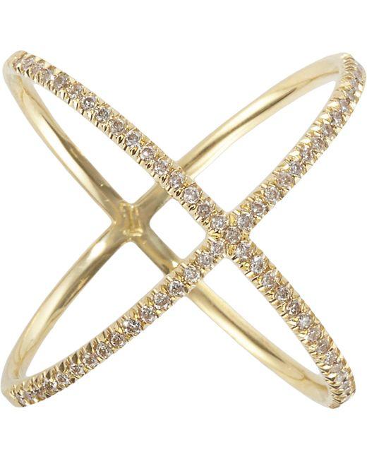 Eva Fehren   Metallic x Ring   Lyst