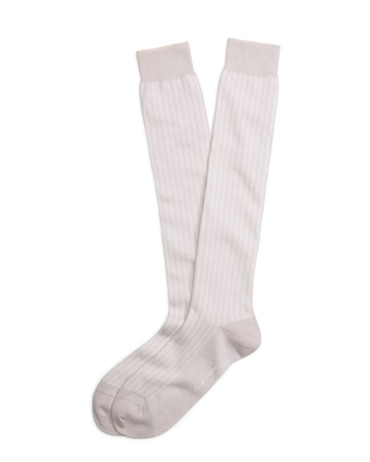 Brooks Brothers   Pink Pastel Herringbone Over-the Calf Socks for Men   Lyst