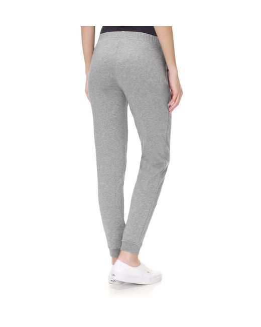 Sunspel | Gray Women's Loopback Cotton Track Pant | Lyst