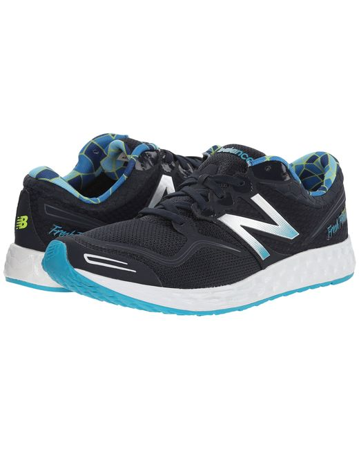 New Balance | Blue Fresh Foam Zante | Lyst