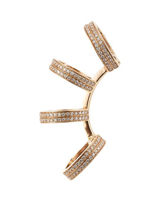 Repossi   Metallic Diamond Berbere Ear Cuff   Lyst