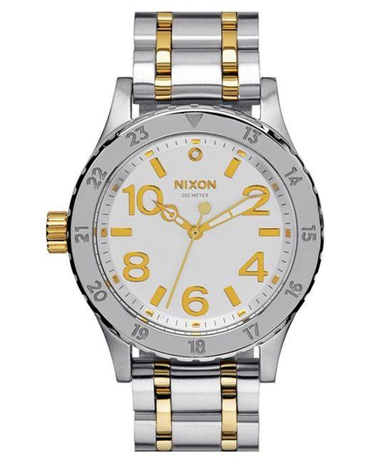 Nixon | Metallic 'the 38-20' Bracelet Watch | Lyst