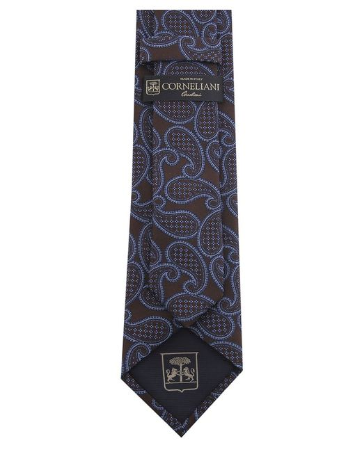 Corneliani | Blue Paisley Tie for Men | Lyst