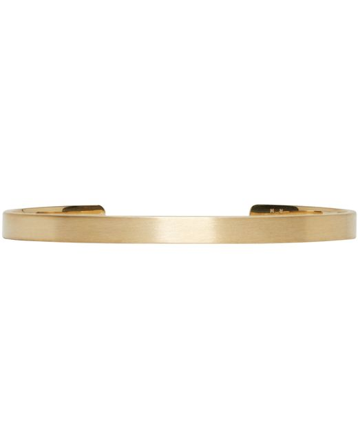 Le Gramme | Metallic Gold Le 15 Grammes Cuff | Lyst