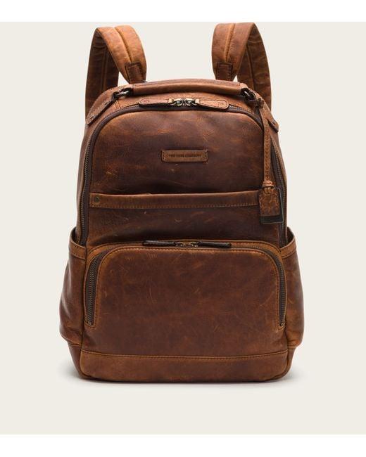 Frye | Brown Logan Backpack for Men | Lyst