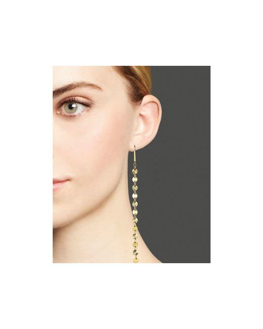Lana Jewelry | Metallic 14k Yellow Gold Elite Disc Earrings | Lyst