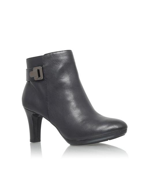 Anne Klein   Black Stefica High Heel Ankle Boots   Lyst
