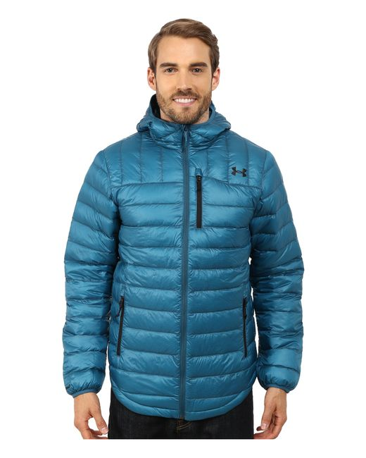 Under Armour | Blue Ua Cgi Turing Hooded Jacket for Men | Lyst