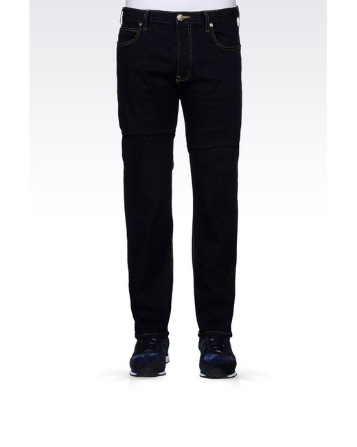 Armani Jeans | Blue Jeans for Men | Lyst