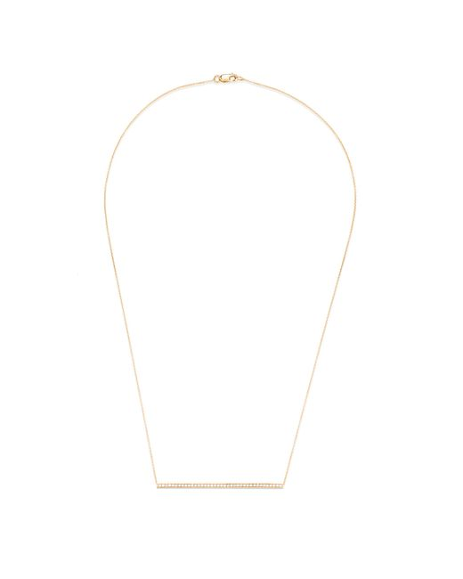 Carbon & Hyde | Metallic Sidebar Necklace | Lyst