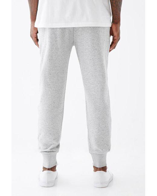 Forever 21 | Gray Speckled Zip-pocket Joggers for Men | Lyst