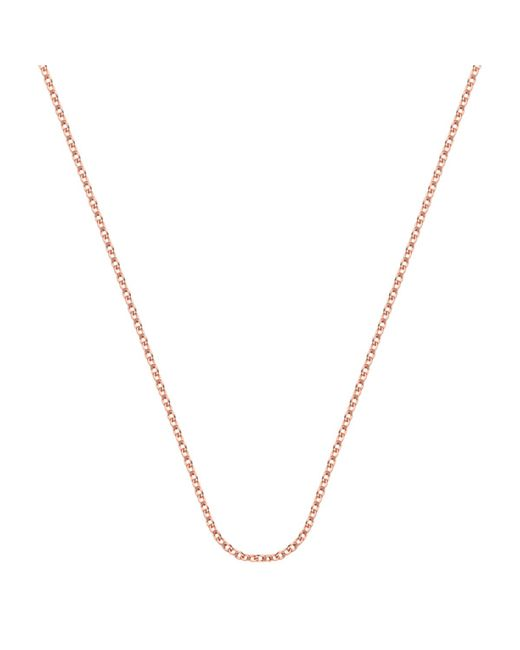 "Monica Vinader | Pink Rolo Chain 32""/81cm With Adjuster 
