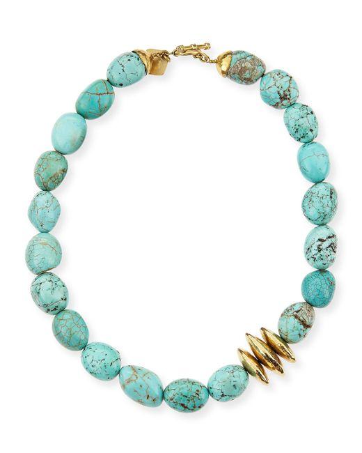 Ashley Pittman   Blue Yai Turquoise Necklace   Lyst