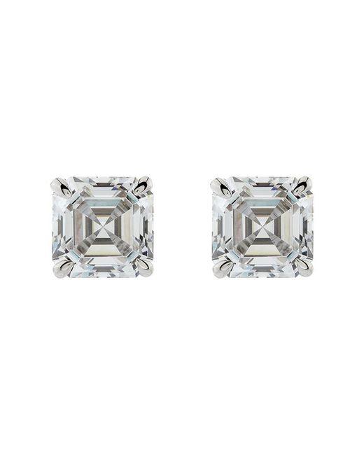 Carat* | Metallic 0.5ct Asscher Stud Earrings | Lyst