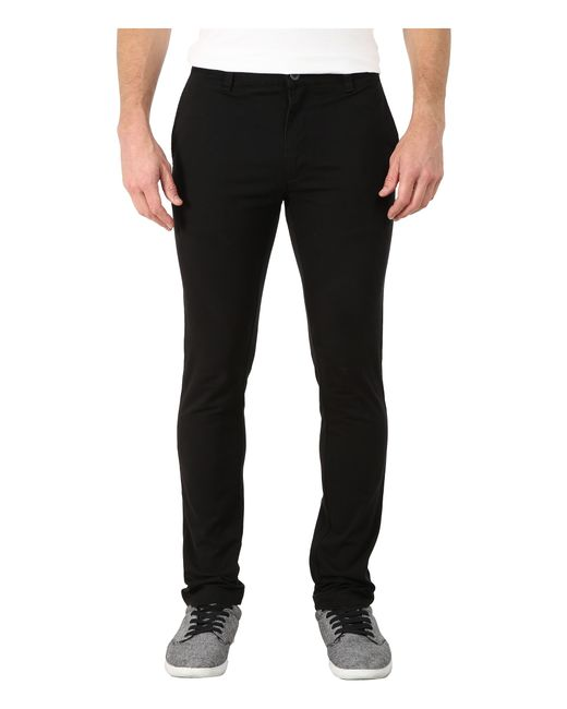RVCA | Black Stapler Twill Pants for Men | Lyst