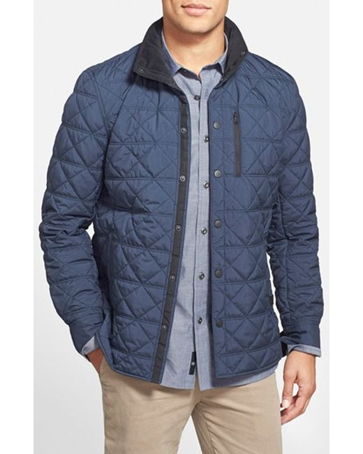 Victorinox | Blue 'Bernhold' Quilted Thermore Insulated Jacket for Men | Lyst