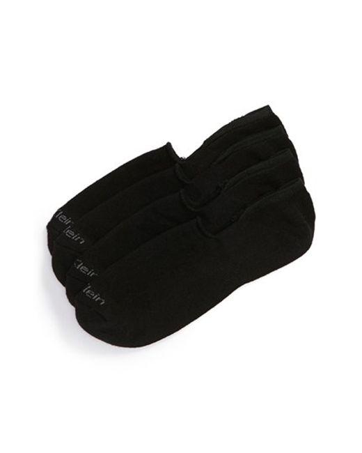 Calvin Klein | Black Performance Cushion No-show Socks for Men | Lyst