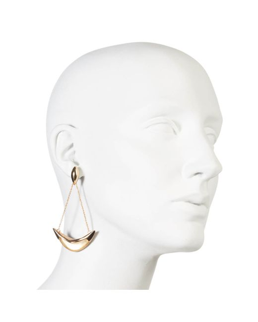 Alexis Bittar | Metallic Kinshasa Suspended Crescent Earring You Might Also Like | Lyst