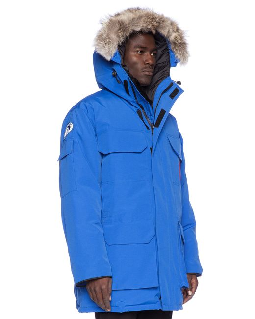 Canada Goose hats outlet price - Canada goose Expedition Down Parka in Blue for Men (Royal Pbi Blue ...