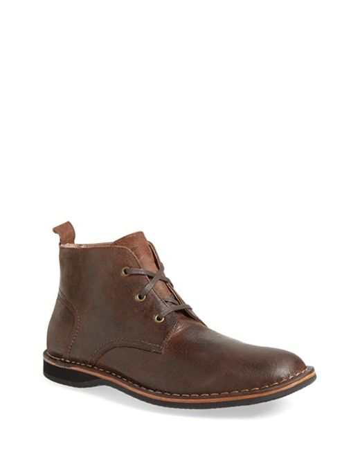 Andrew Marc | Brown 'dorchester' Chukka Boot for Men | Lyst