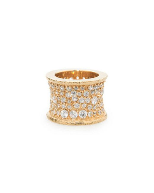 Melinda Maria | Metallic Gold Galaxy Bling Ring | Lyst
