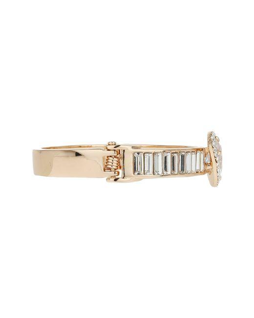Mikey | Metallic Large Baguette Bracelet | Lyst