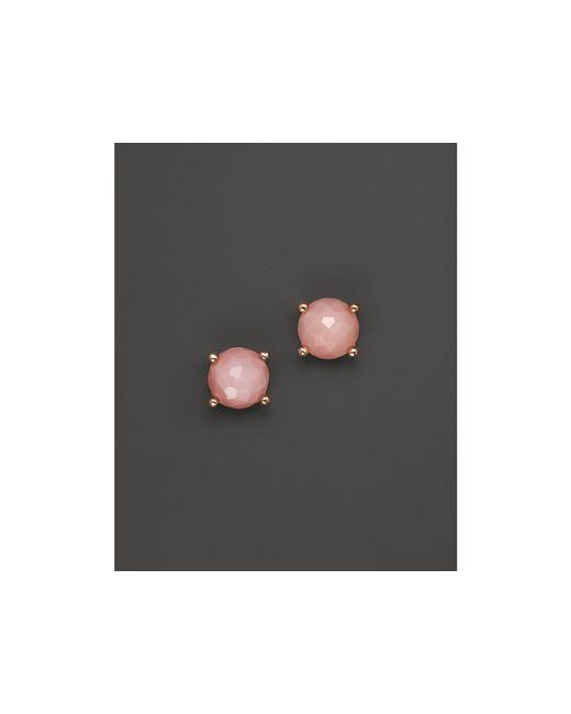 Ippolita   Rock Candy Rose Mini Stud Earrings In Pink Opal   Lyst