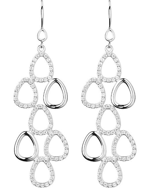 Links of London | Metallic Hope Silver Topaz Earrings | Lyst