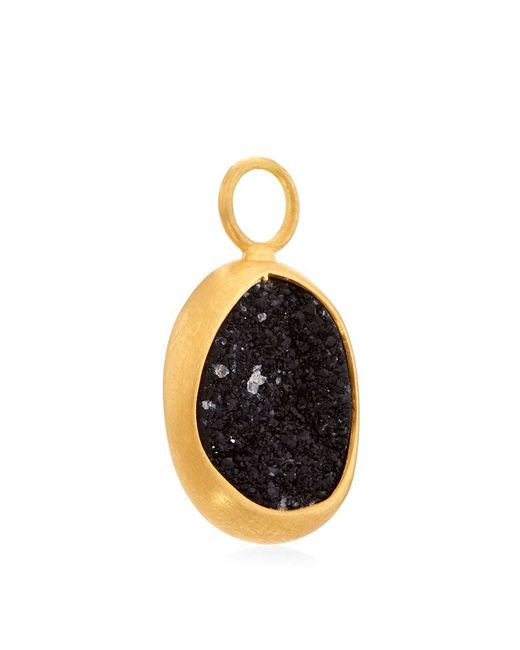 Annoushka | Black Drusy Wrapped Earring Drops | Lyst