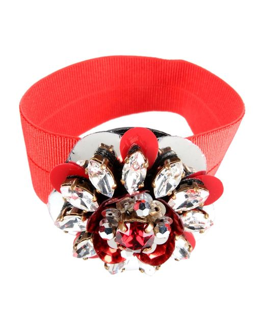 Shourouk | Red Bracelet | Lyst