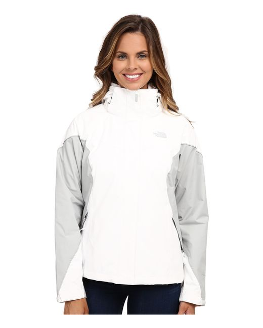 The North Face | White Boundary Triclimate® Jacket | Lyst