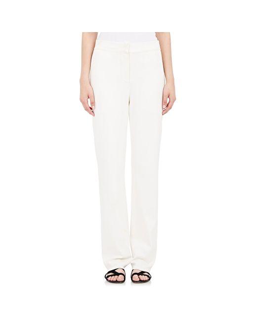 Cedric Charlier | White Women's Knit High-waist Pants | Lyst