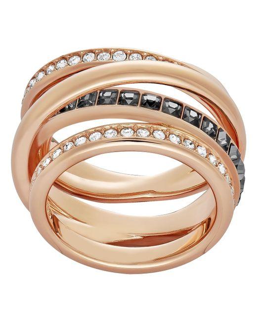 Swarovski | Pink Dynamic Ring | Lyst