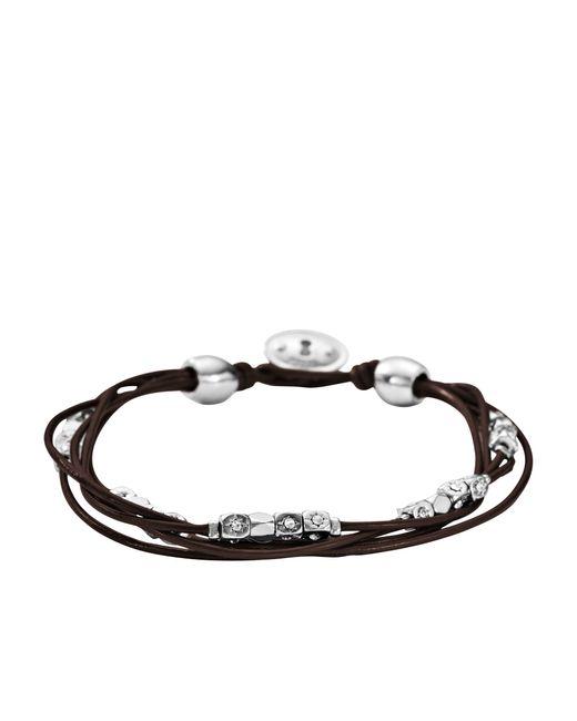 Fossil | Brown Ja5798040 Ladies Bracelet | Lyst