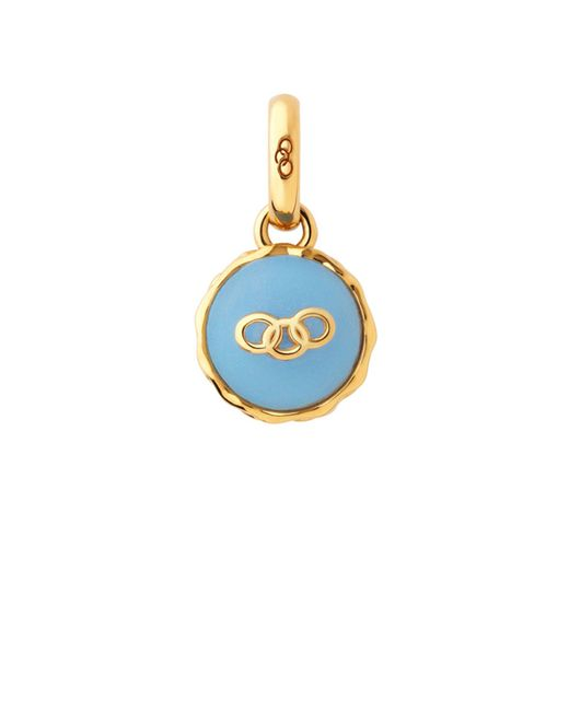 Links of London | Gold Vermeil Blueberry Macaron Charm | Lyst