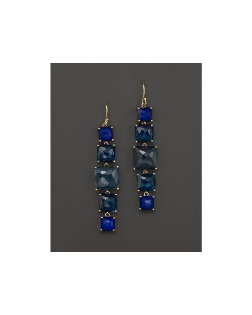 Ippolita | Blue 18k Gold Rock Candy 5 Stone Drop Earrings In Liberty | Lyst