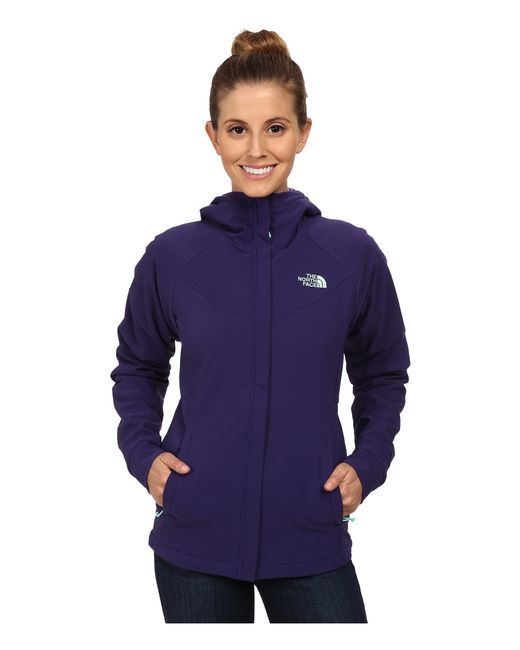 The North Face | Purple Maddie Raschel Hoodie | Lyst