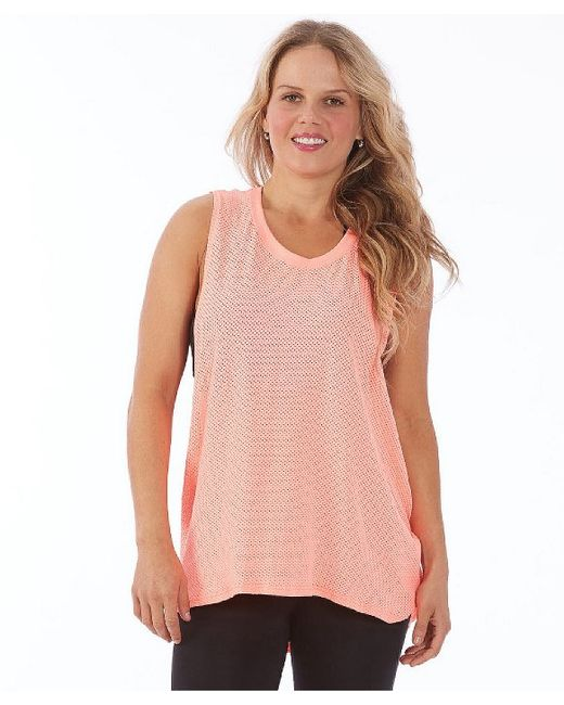 Electric Yoga Loose Top In Pink