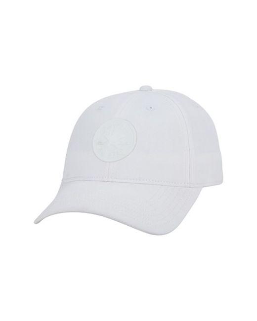 Converse | White 'core' Twill Snapback Ball Cap for Men | Lyst