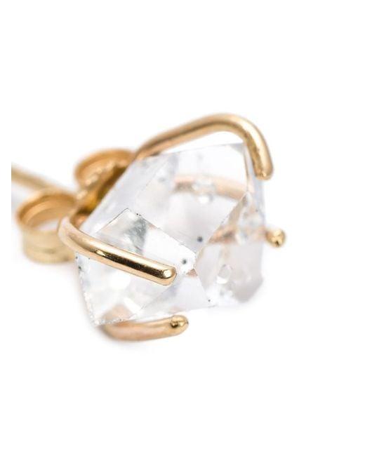 Melissa Joy Manning   Metallic Herkimer Diamond Post Earrings   Lyst