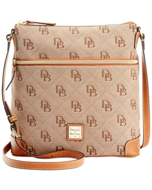 Dooney & Bourke | Natural Maxi Quilt Americana Signature Crossbody, A Macy's Exclusive Style | Lyst