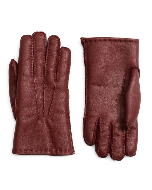 Brooks Brothers | Purple Shearling Gloves for Men | Lyst