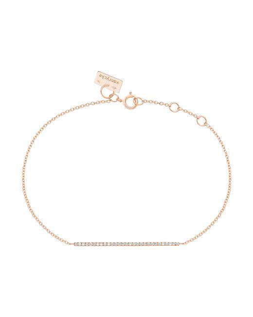Vanrycke | Pink Medellin Gold And Diamond Bracelet | Lyst