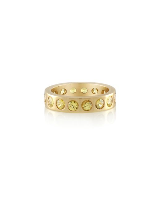 Holly Dyment | Metallic Yellow Sapphire Eternity Band | Lyst