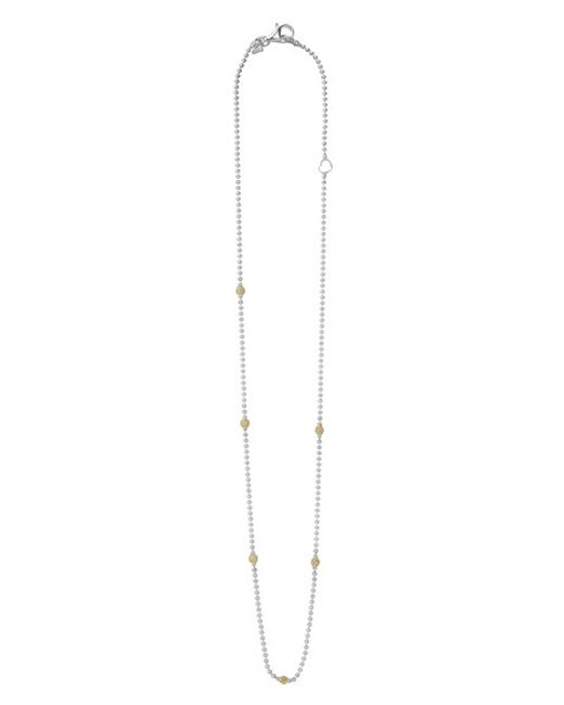 Lagos | Metallic Caviar Superfine Ball Necklace | Lyst