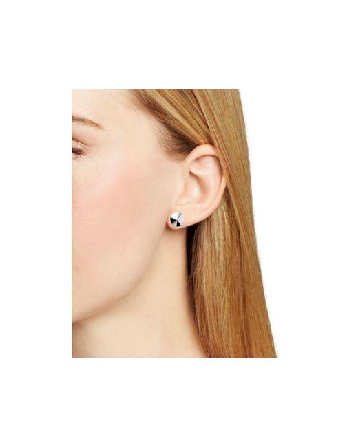 Eddie Borgo | Metallic Cone Earrings | Lyst
