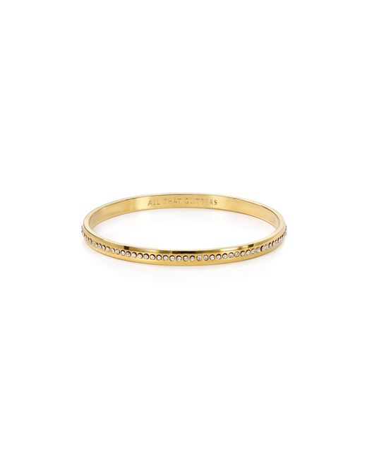 Kate Spade | Metallic All That Glitters Idiom Bangle | Lyst