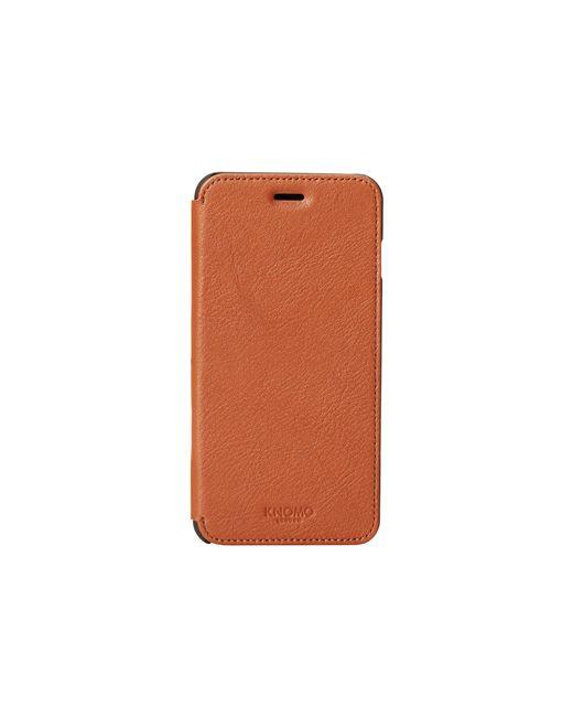 Knomo | Brown Classic Phone Folio | Lyst