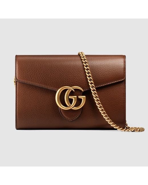 ae490186652b Gg Marmont Leather Mini Chain Bag Uk | Stanford Center for ...