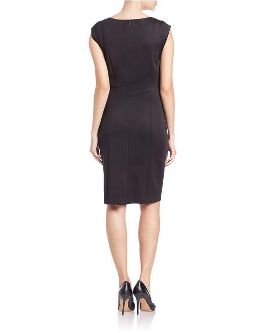 Karl Lagerfeld | Black Knee-length Dress | Lyst